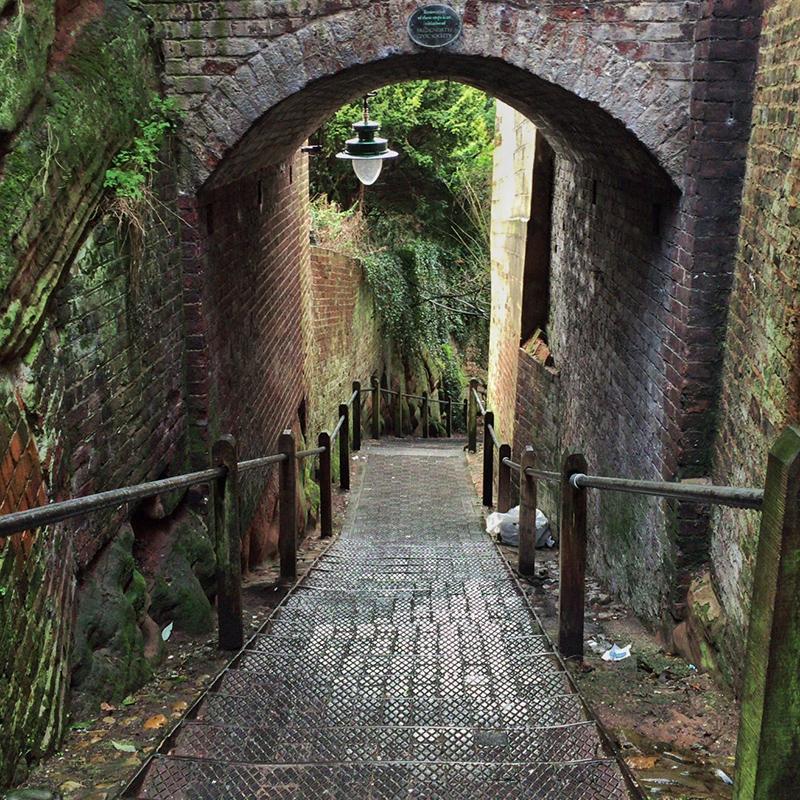 Steps, Bridgnorth, Shropshire - Splodz Blogz