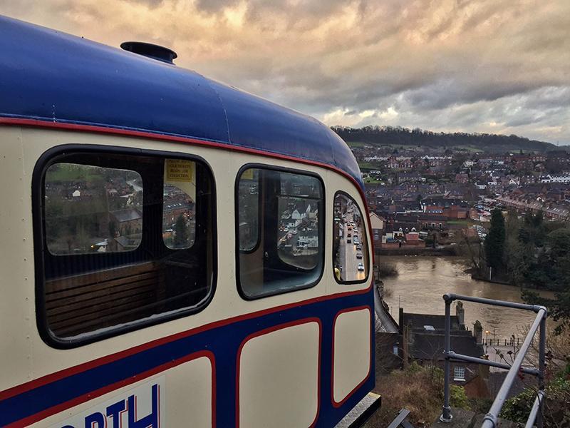 Cliff Railway, Bridgnorth, Shropshire - Splodz Blogz