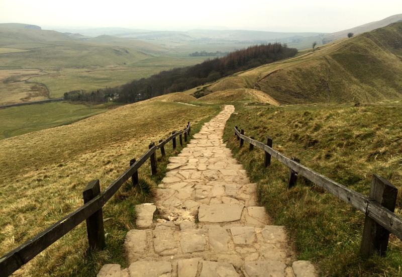 Mam Tor, Castleton, Derbyshire - Splodz Blogz