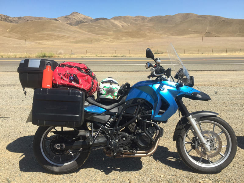Zartusacan - My F650GS in the California Valley