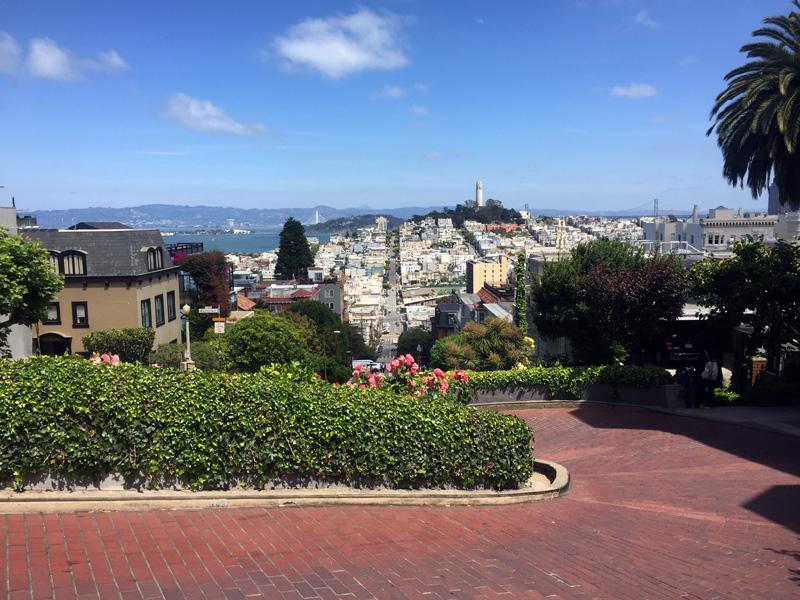 Zartusacan - San Francisco - Lombard Street