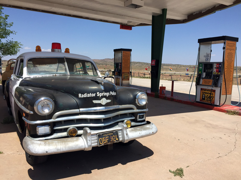 Zartusacan - Peach Springs, Route 66