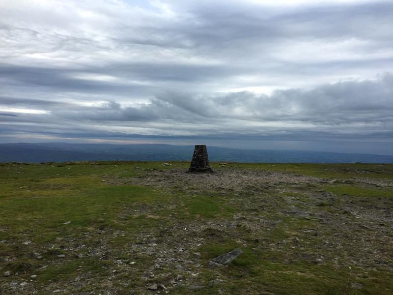 Yorkshire 3 Peaks - Ingleborough Trig Point Summit
