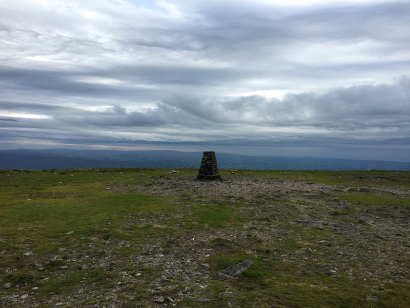 Yorkshire 3 Peaks - Ingleborough Trig Point Summit