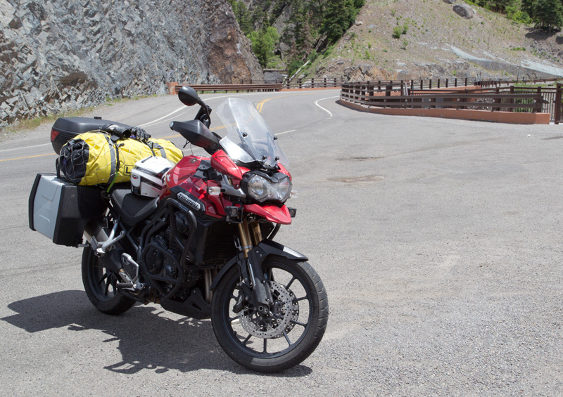 LincsGeek's Tiger on the Million Dollar Highway