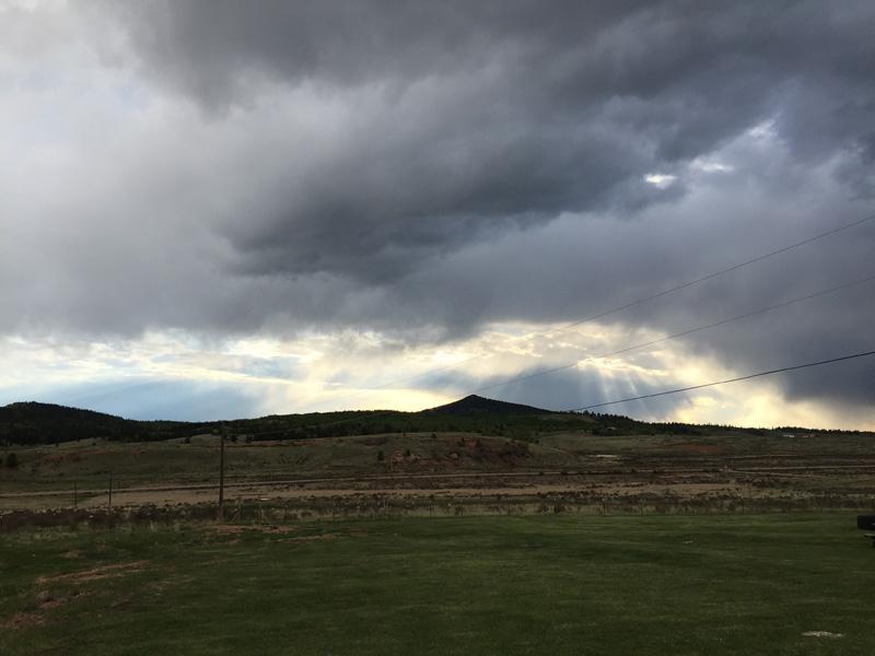 Storm over Cripple Creek, Colorado