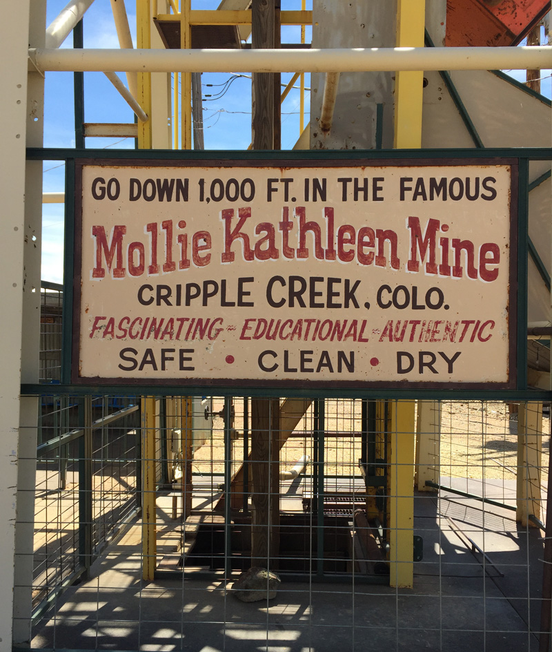 Mollie Kathleen Gold Mine Museum