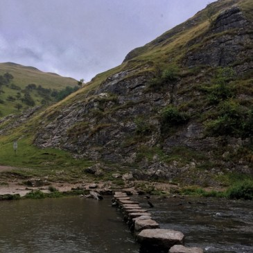 A Wet Walk in Dovedale