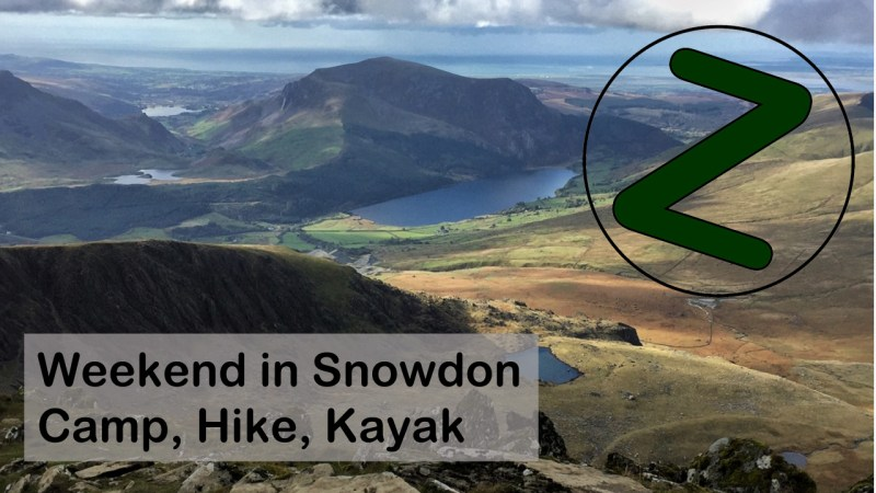 Weekend in Snowdonia, Outdoor Bloggers, Vlog