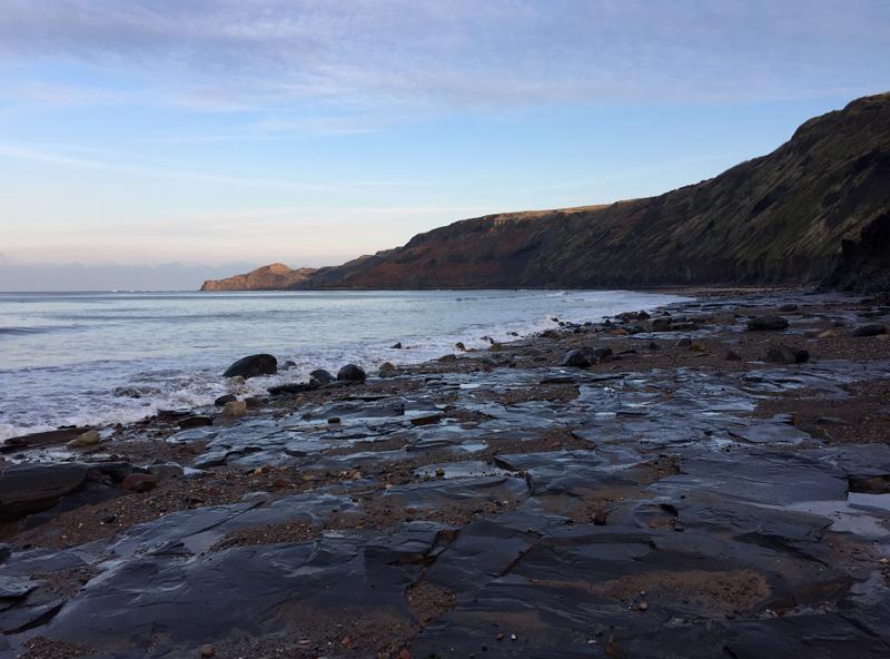 One Hour Outside - Runswick Bay