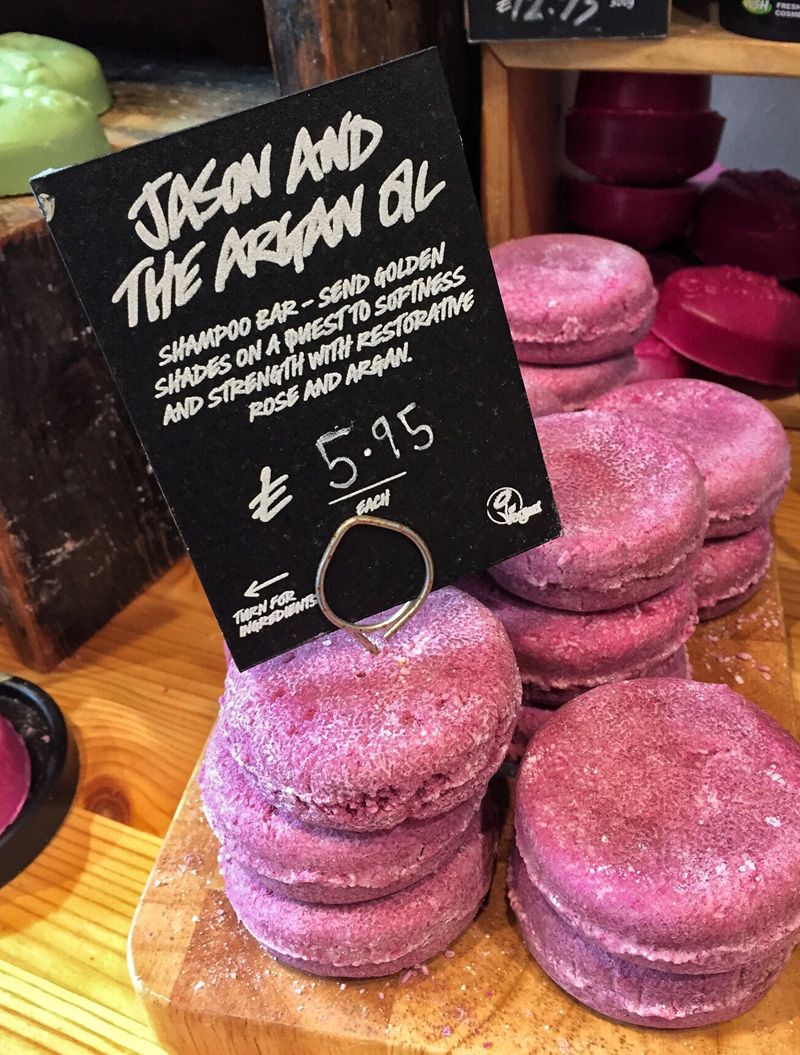 Splodz Blogz in Lush, Lincoln - Lush Shampoo Bar