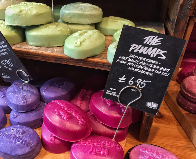 Splodz Blogz in Lush, Lincoln - Lush Conditioner Bar