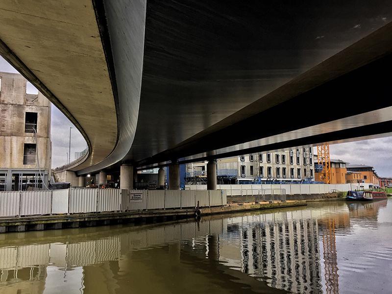 One Hour Outside February - Water University Bridge