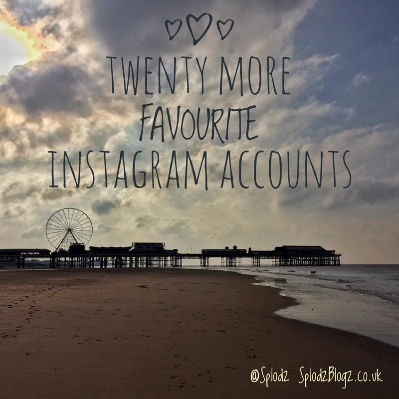 Twenty More Favourite Instagram Accounts | Splodz Blogz