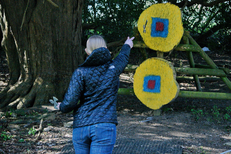 AXE THROWING AT TULLEY'S FARM