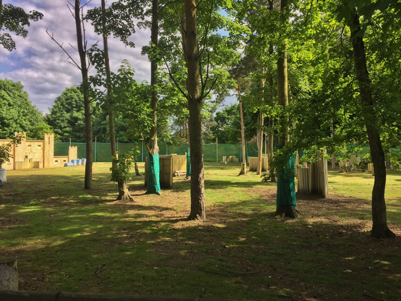 PAINTBALL AT CENTER PARCS