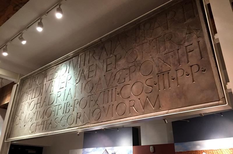 Splodz Blogz   Original Shrewsbury   Roman Text