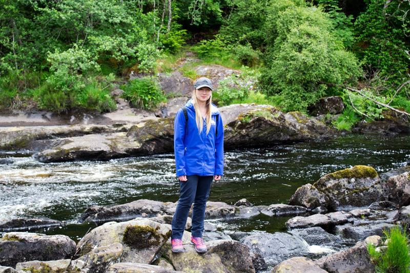 Splodz Blogz | Rogie Falls - Wearing my Horizon Cap from Millets