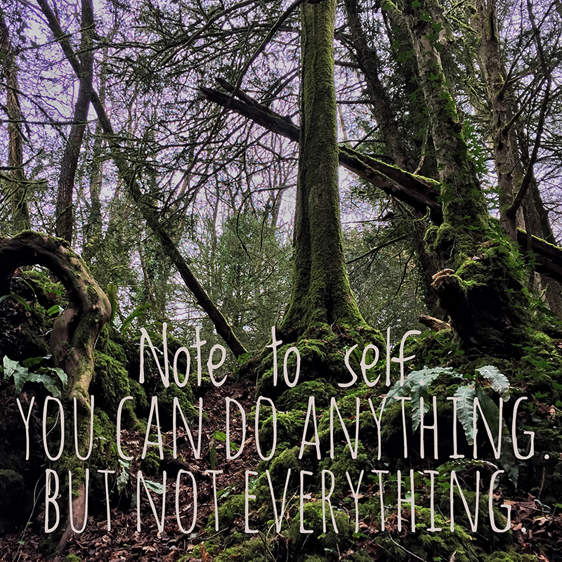 YOU CAN DO ANYTHING. BUT NOT EVERYTHING.