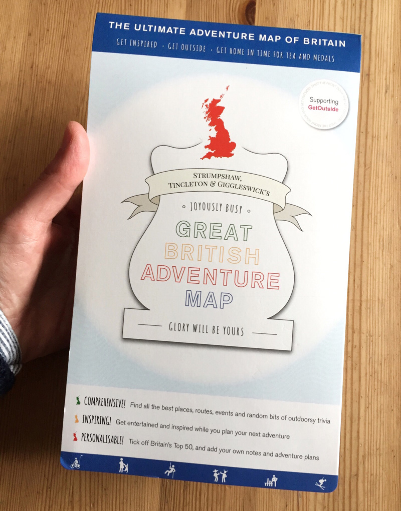 Splodz Blogz | The Great British Adventure Map