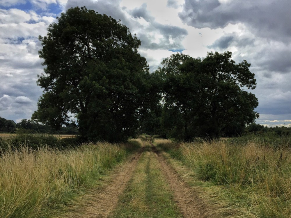 Splodz Blogz | Farm Track in Lincolnshire