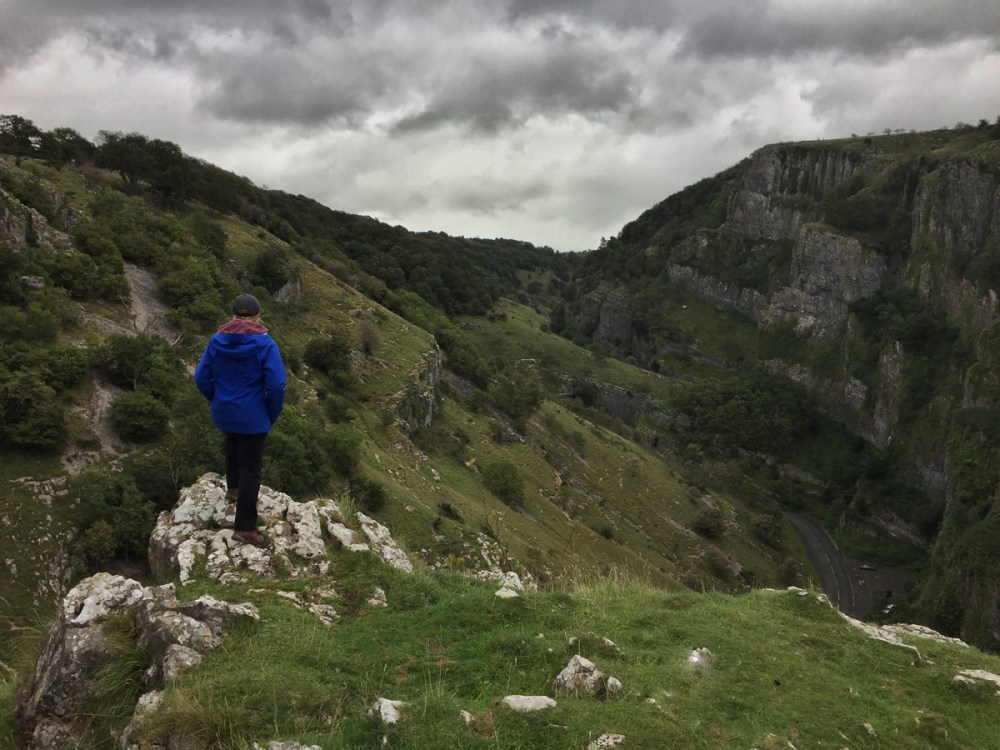 Splodz Blogz | Looking out over Cheddar Gorge
