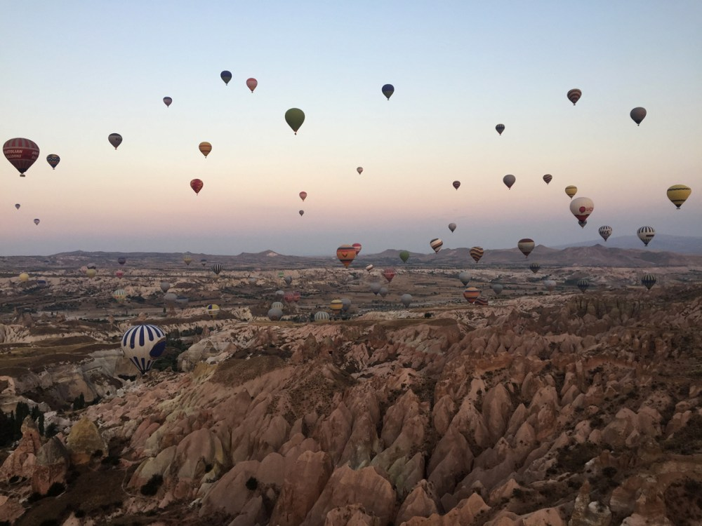 Splodz Blogz | Favourite Photos | Turkey - Hot Air Balloons in Cappadocia