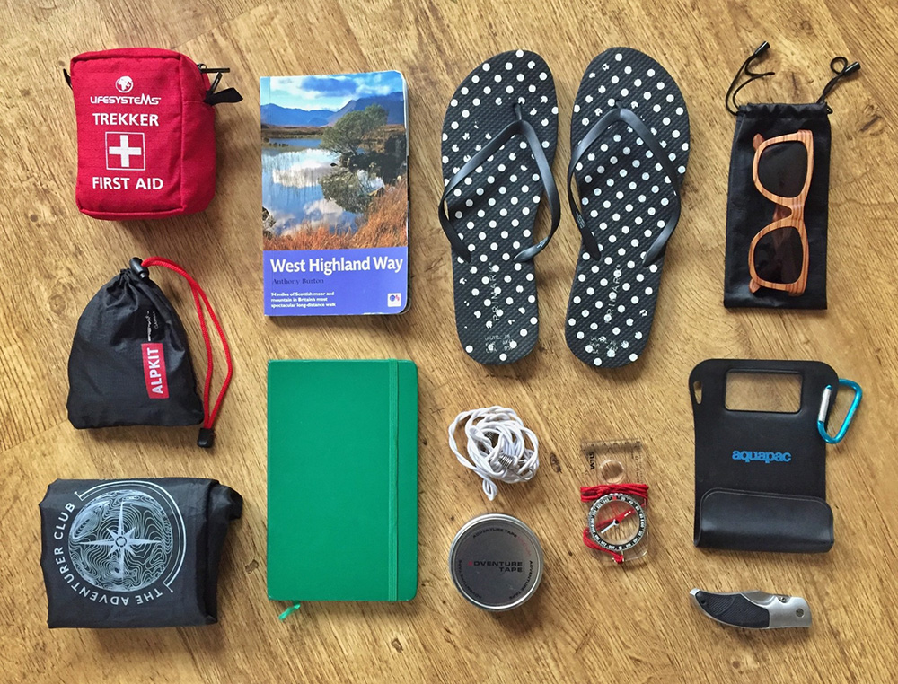 Splodz Blogz | West Highland Way Kit