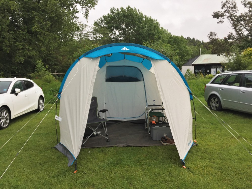 Splodz Blogz | NC500 | Tent at Applecross Campsite