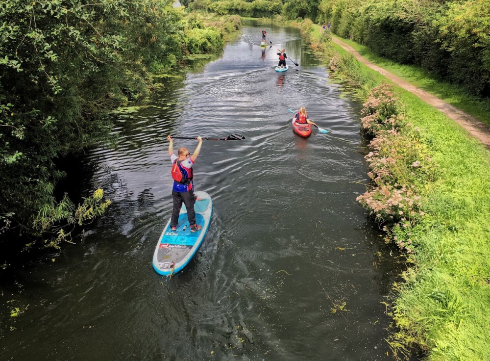Splodz Blogz | Plastic Patrol SUP in Nottingham