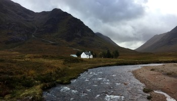 Splodz Blogz   West Highland Way - River Coupall and Buachaille Etive Moor