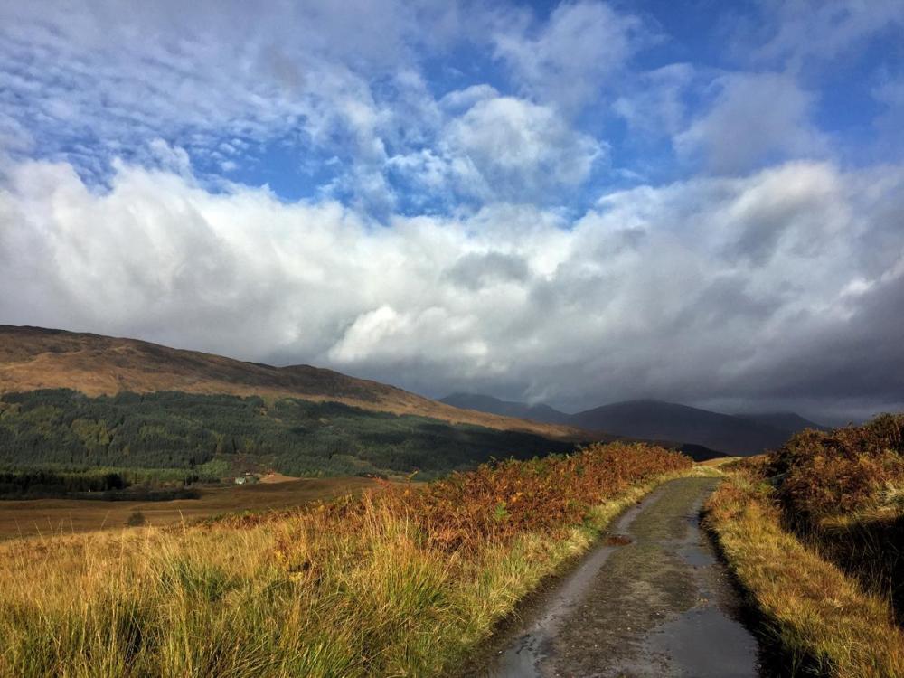 Splodz Blogz   West Highland Way - Towards Glencoe