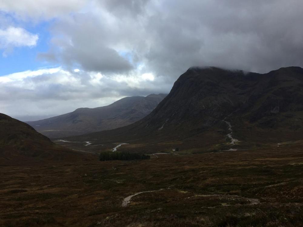Splodz Blogz | West Highland Way - Buachaille Etive Moor