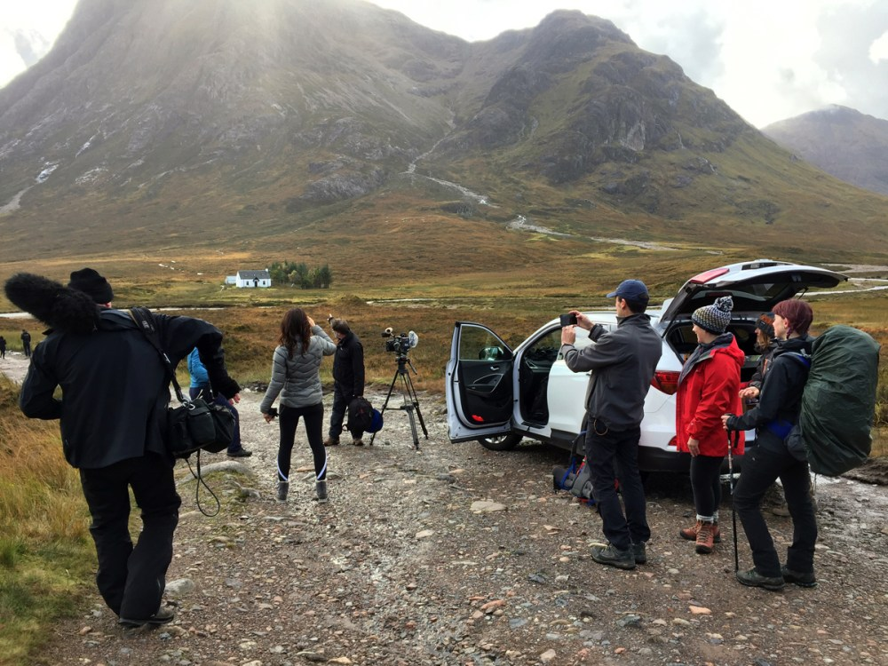 Splodz Blogz | West Highland Way - ITV Film Crew