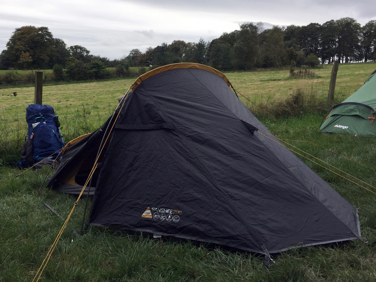 Splodz Blogz | Vango Banshee 200 on the West Highland Way & REVIEW | VANGO BANSHEE 200 TENT u003e SPLODZ BLOGZ