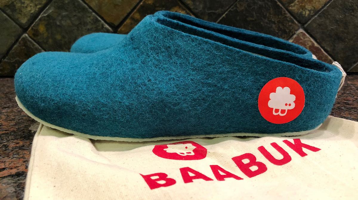REVIEW: GUS SLIPPERS FROM BAABUK