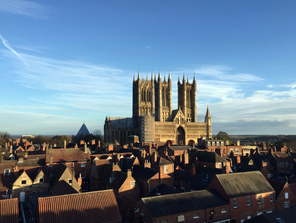Splodz Blogz | 24 Hours in Lincoln - The Cathedral from the Castle