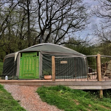 GLAMPING WITH HIDDEN VALLEY YURTS