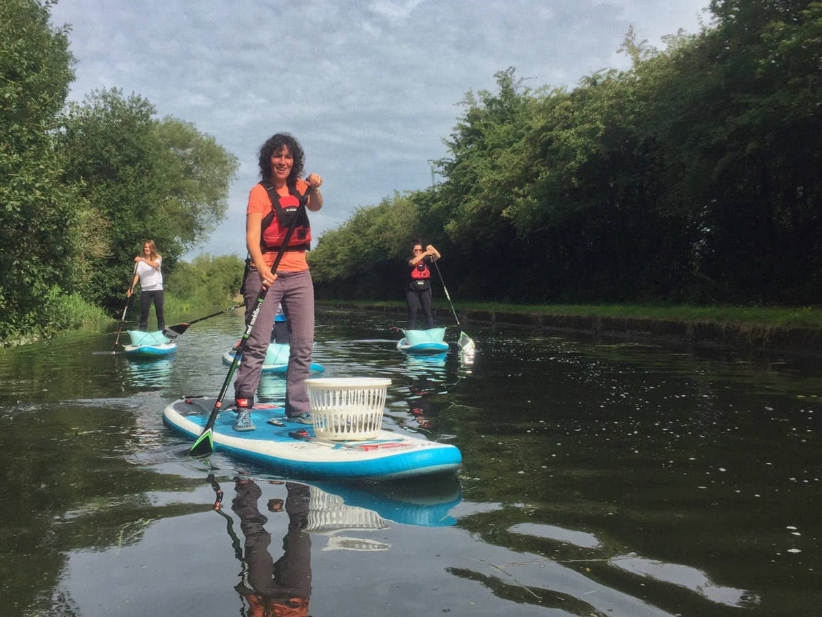 PLASTIC PATROL | CLEANING BRITAIN'S WATERWAYS BY SUP