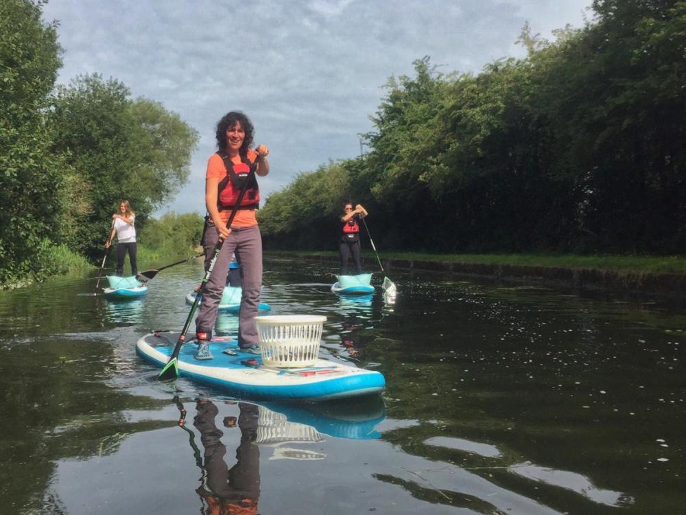 Splodz Blogz   Plastic Patrol SUP litter pick in Nottingham