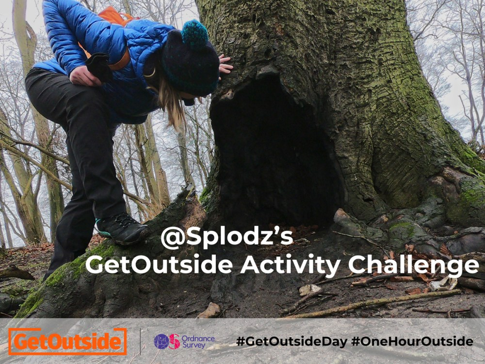 Splodz GetOutside Activity Challenge for GetOutsideDay