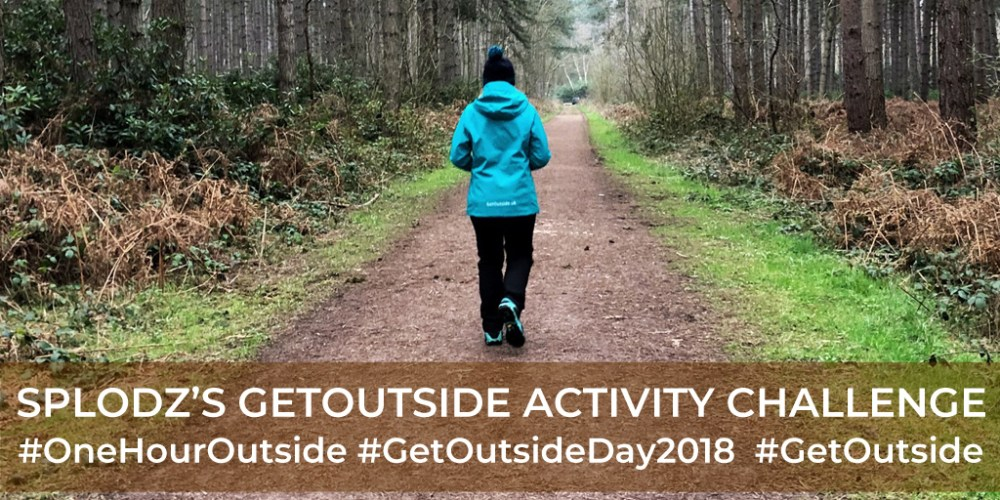 Splodz Blogz | GetOutside Activity Challenge
