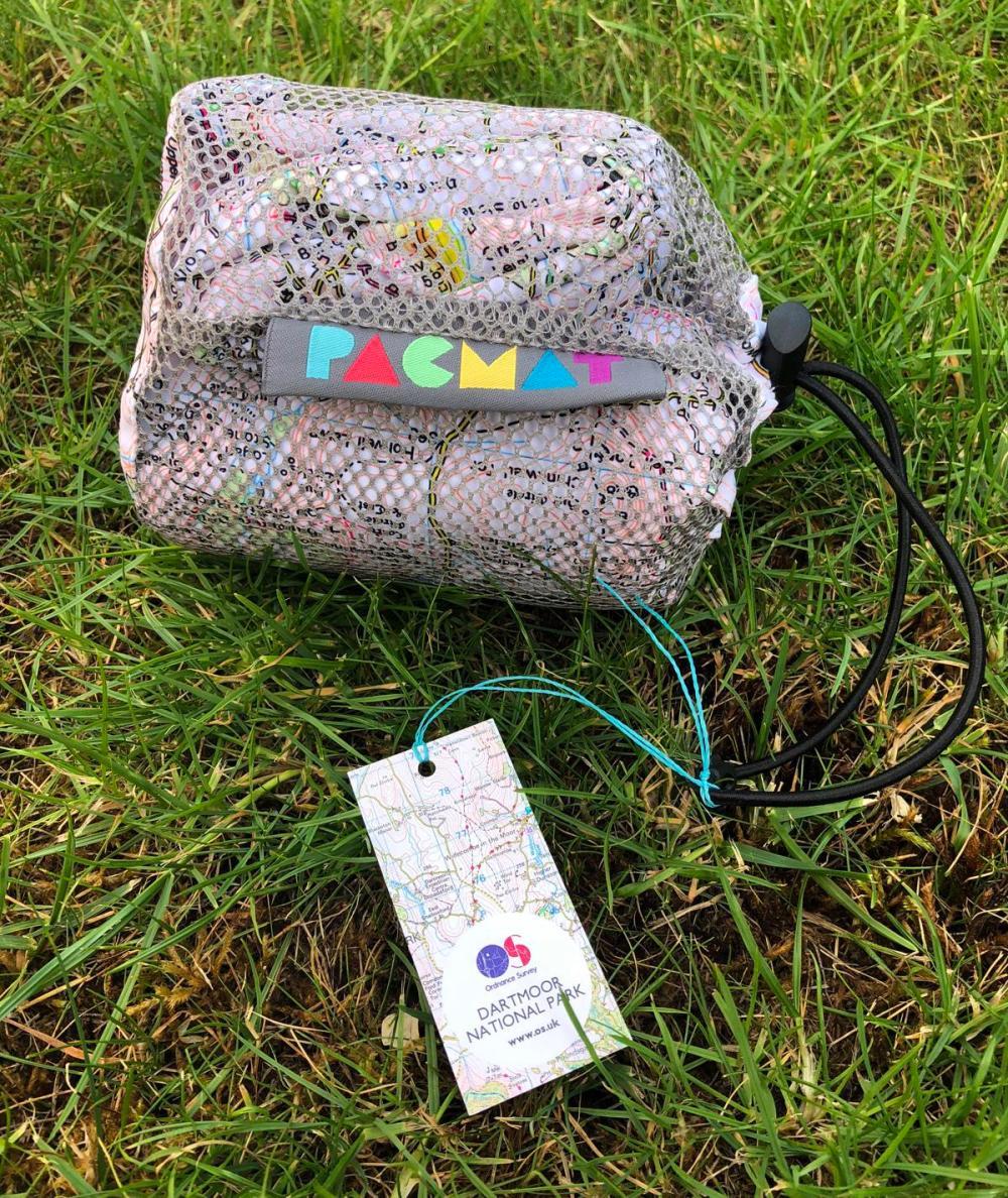 Splodz Blogz | Pacmat x Ordnance Survey Picnic Blanket