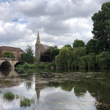 FINDING GREEN SPACES IN SHREWSBURY