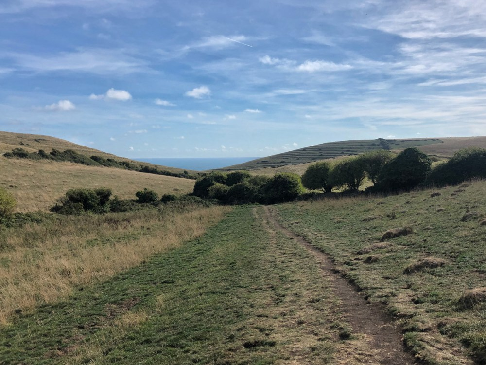 Splodz Blogz | Wilderness Weekends - Walking to Winspit