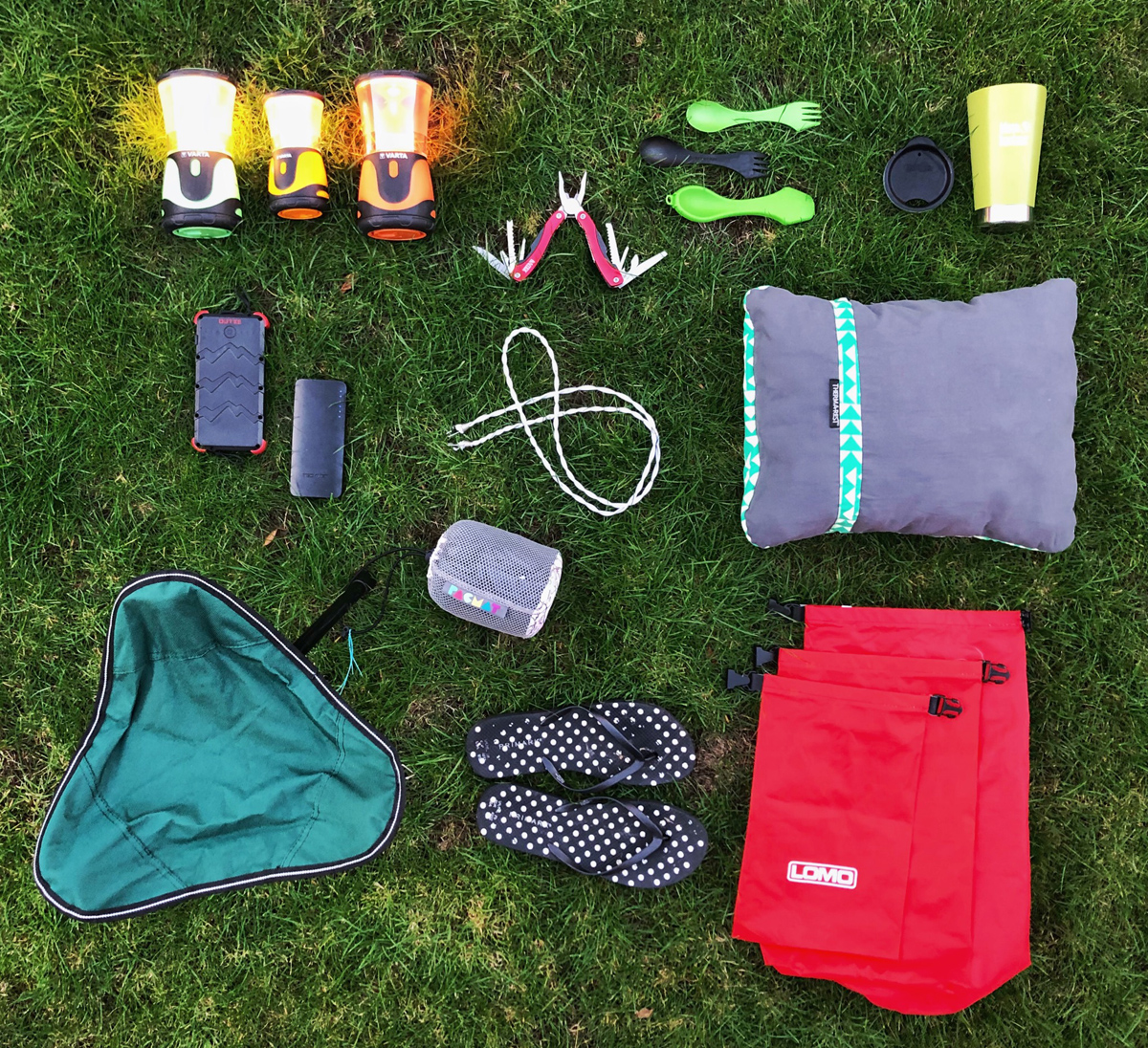 ELEVEN USEFUL CAMPING BITS AND BOBS