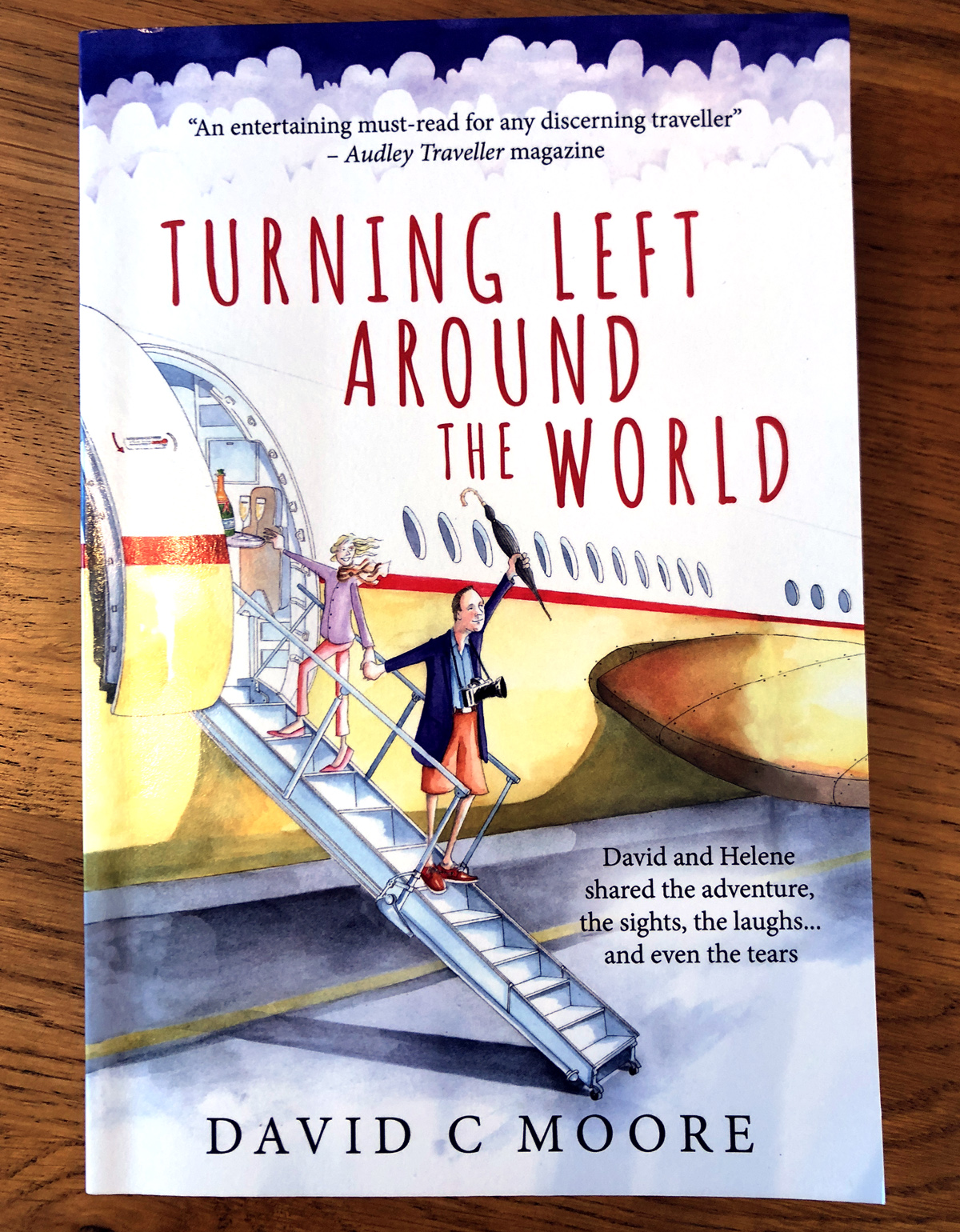 BOOK REVIEW: TURNING LEFT AROUND THE WORLD, DAVID C MOORE