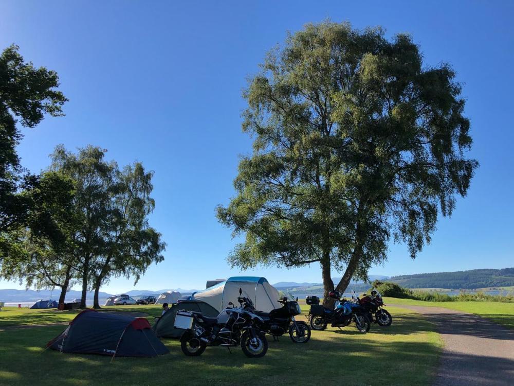 Splodz Blogz | NC500 - Bunchrew Campsite, Inverness