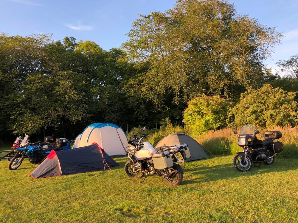 Splodz Blogz   NC500 - Applecross Camping