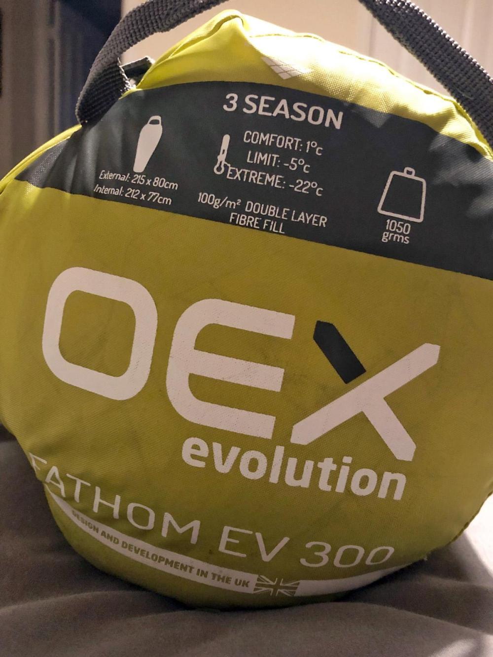 Splodz Blogz | OEX Fathom Sleeping Bag